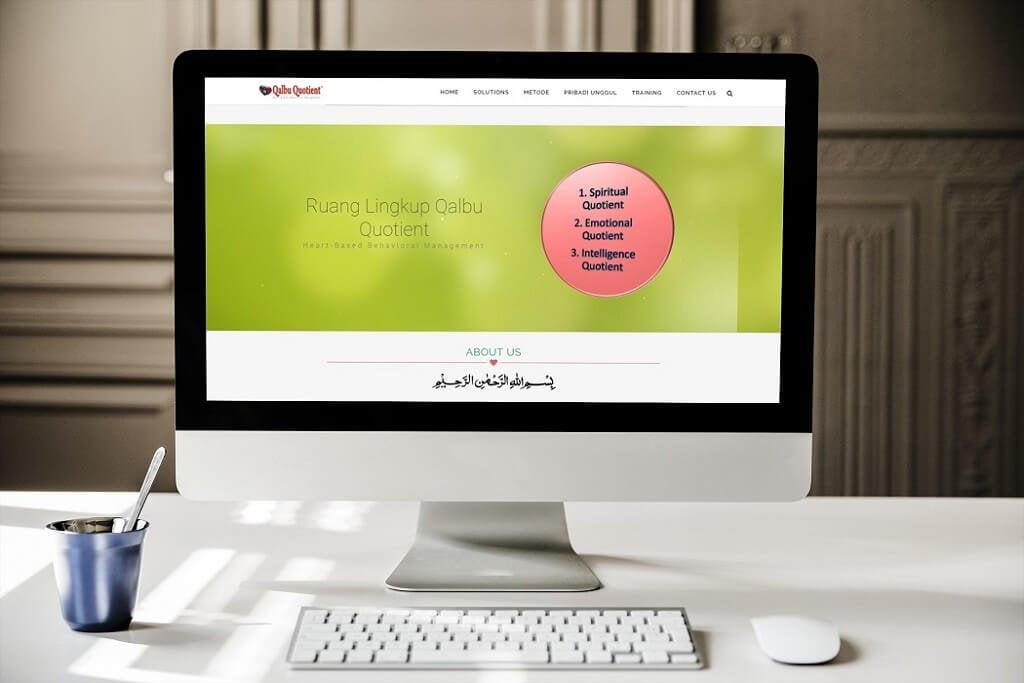 jasa pembuatan website training