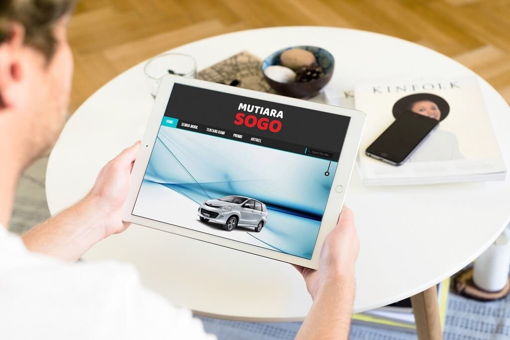 Jasa Pembuatan Website Rental Mobil