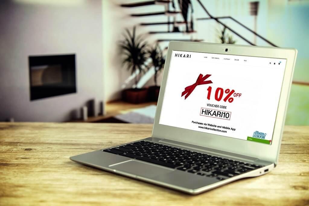 Jasa pembuatan Website Ecommerce Baju