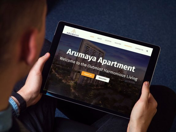 jasa bikin web penjulan apartment