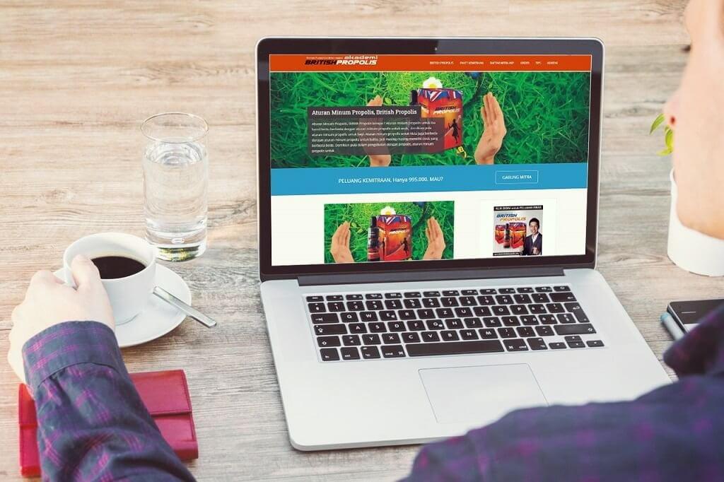 jasa pembuatan website british propolis (2)