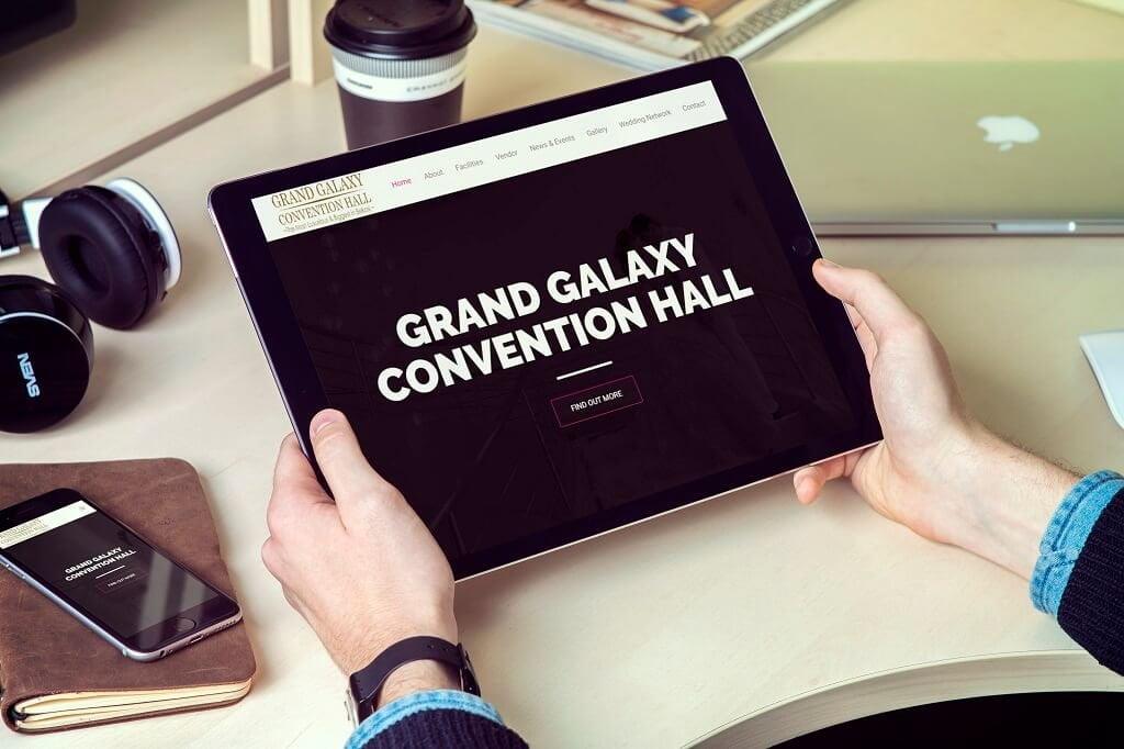 jasa pembuatan website convention hall