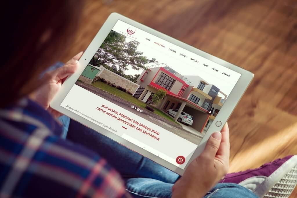 jasa pembuatan website renovasi rumah