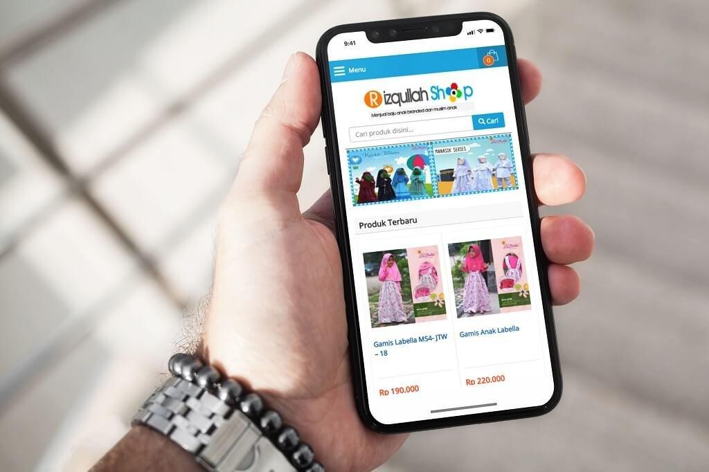 jasa pembuatan website toko online grosir
