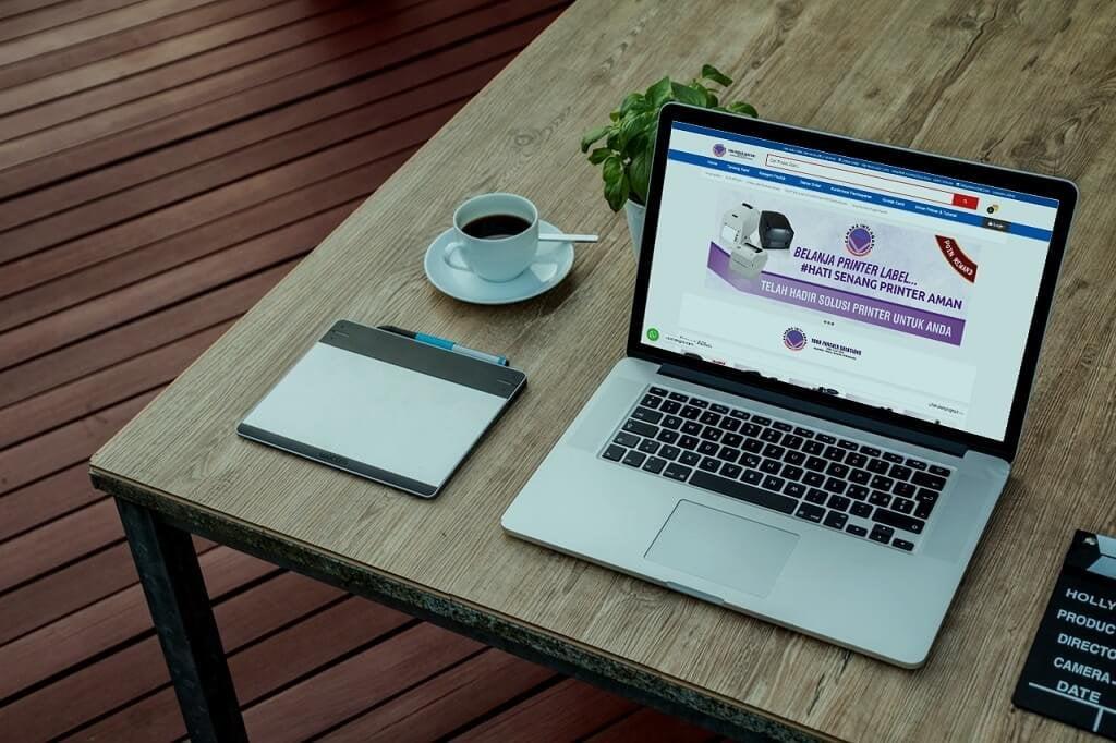 jasa pembuatan website toko online printer