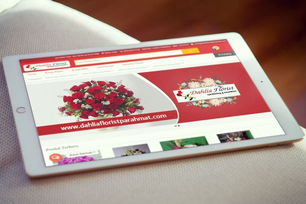 Jasa Pembuatan Website Jual Bunga Online