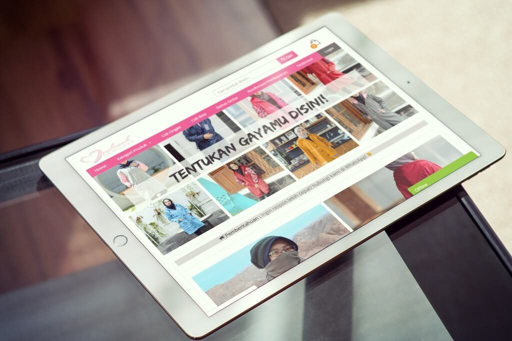 Jasa Pembuatan Website Toko Online Jaket