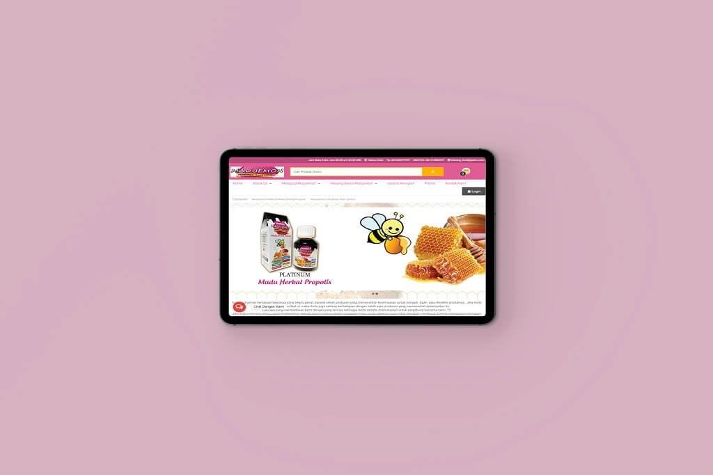 Jasa Pembuatan Website Jual Madu