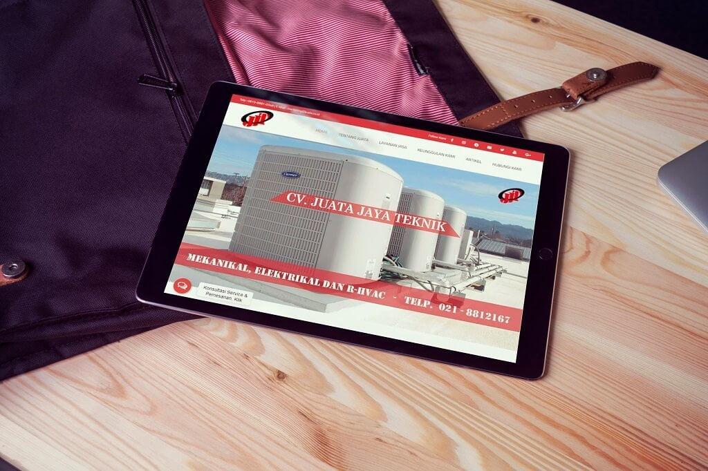 Jasa pembuatan Website Perusahaan RHVAC