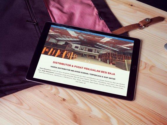 Jasa Pembuatan Website Penjualan Besi Baja (1)