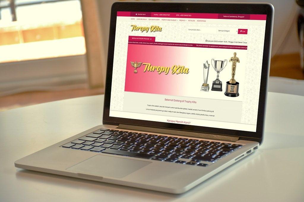 Jasa Pembuatan Website Toko Thropy Online