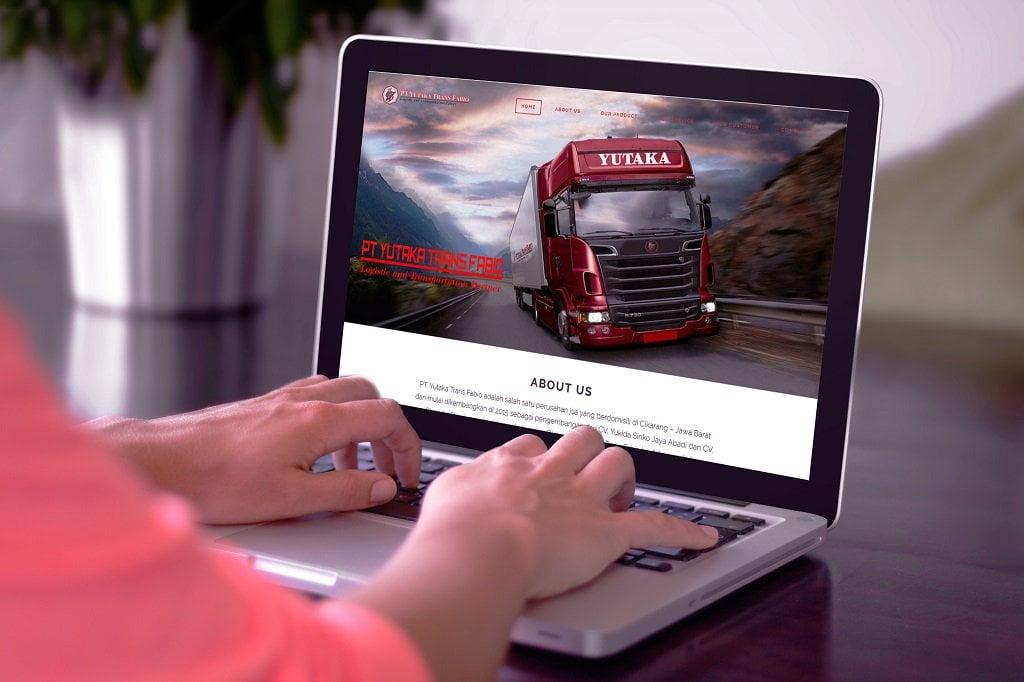 Jasa Pembuatan Website Transportation Service