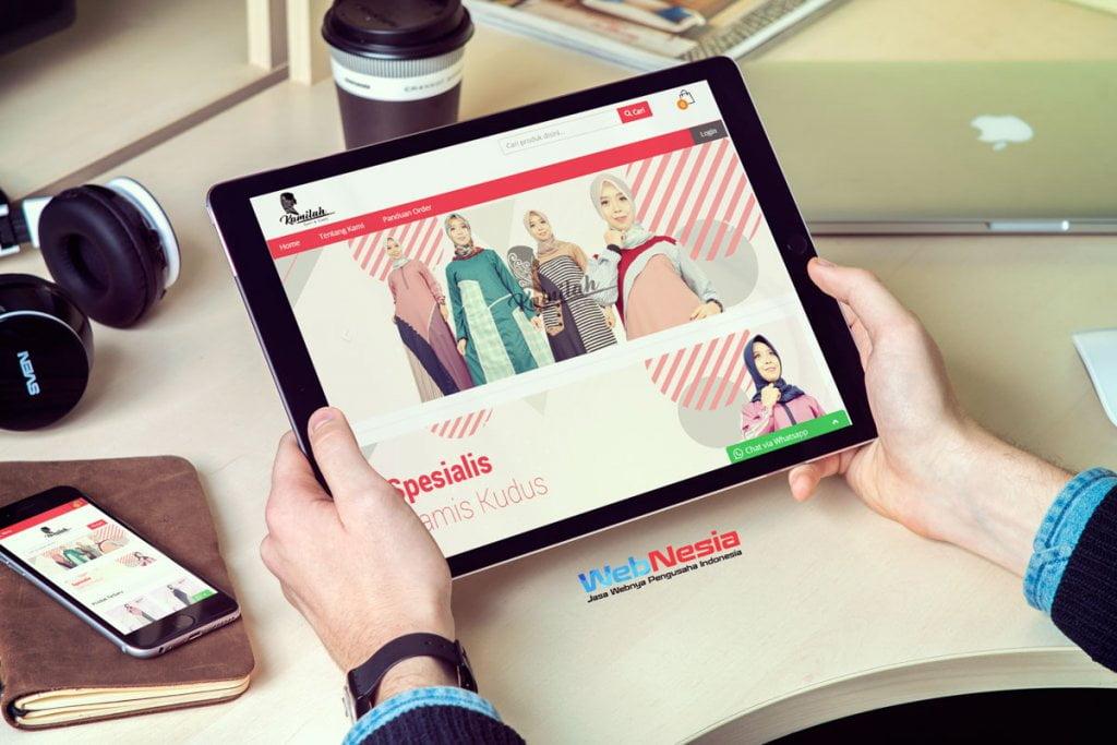Jasa Pembuatan Website Toko Online Gamis