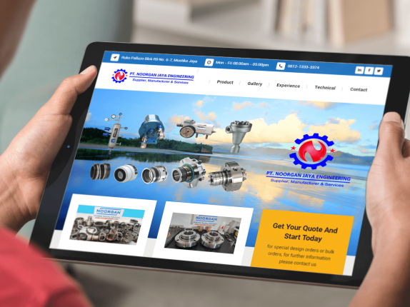 Jasa Pembuatan Website Mechanical Seals