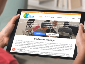 Jasa Pembuatan Website Kursus Bahasa Asing