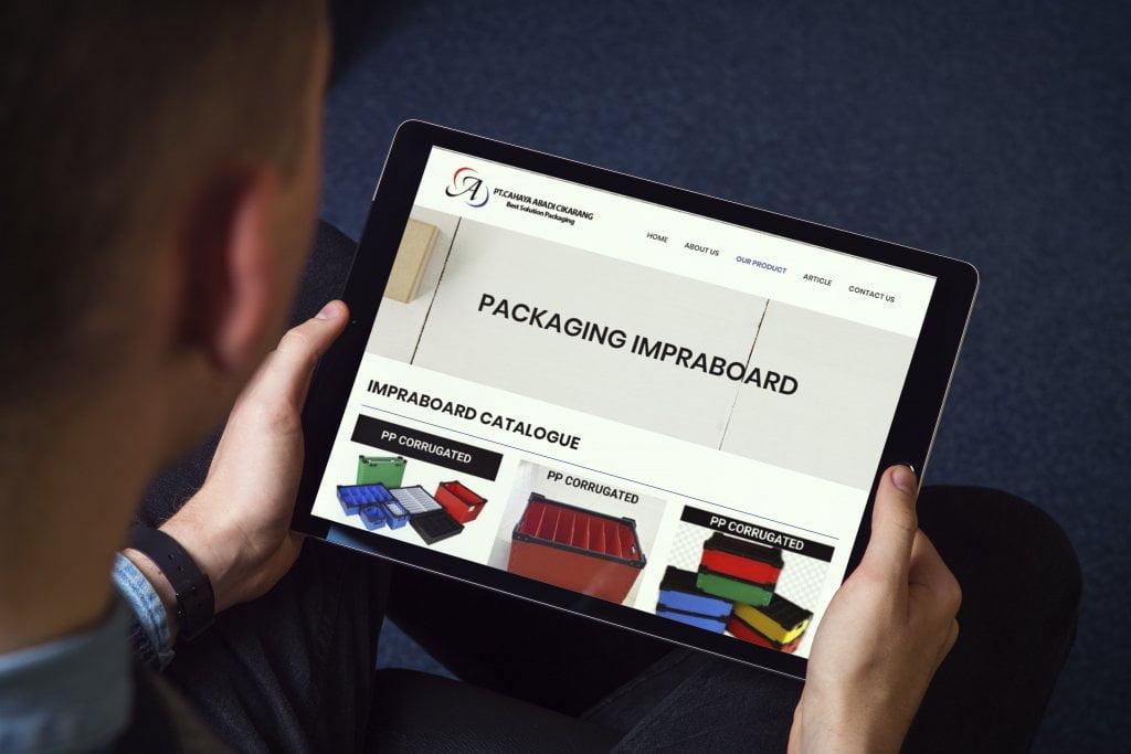 Jasa Pembuatan Website Supplier Impraboard