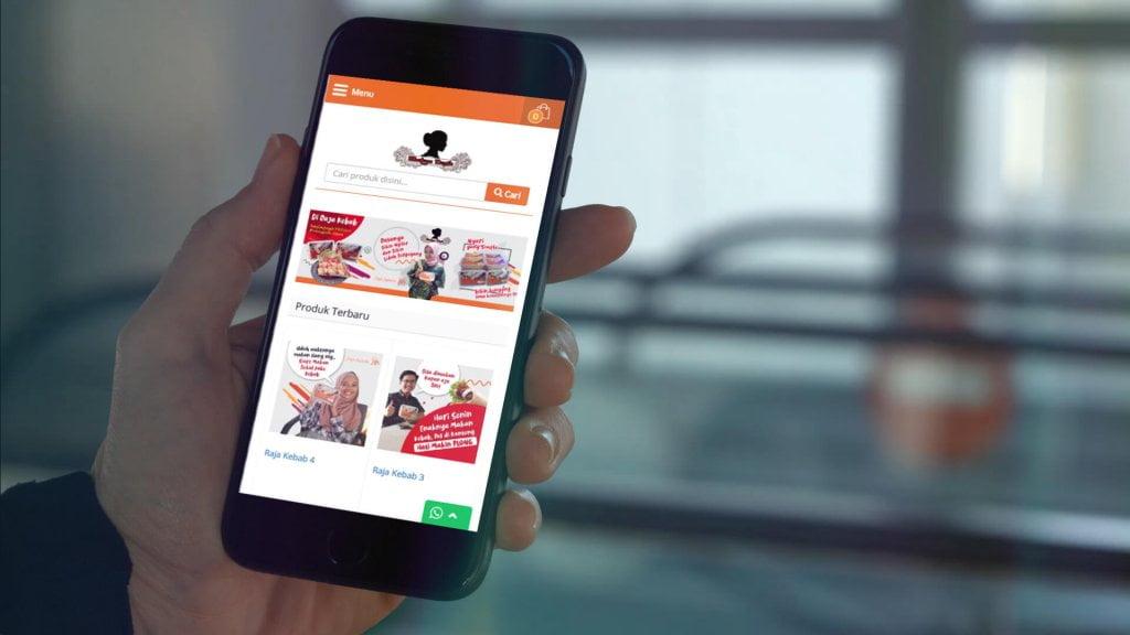 Jasa Pembuatan Website Toko Online Kebab