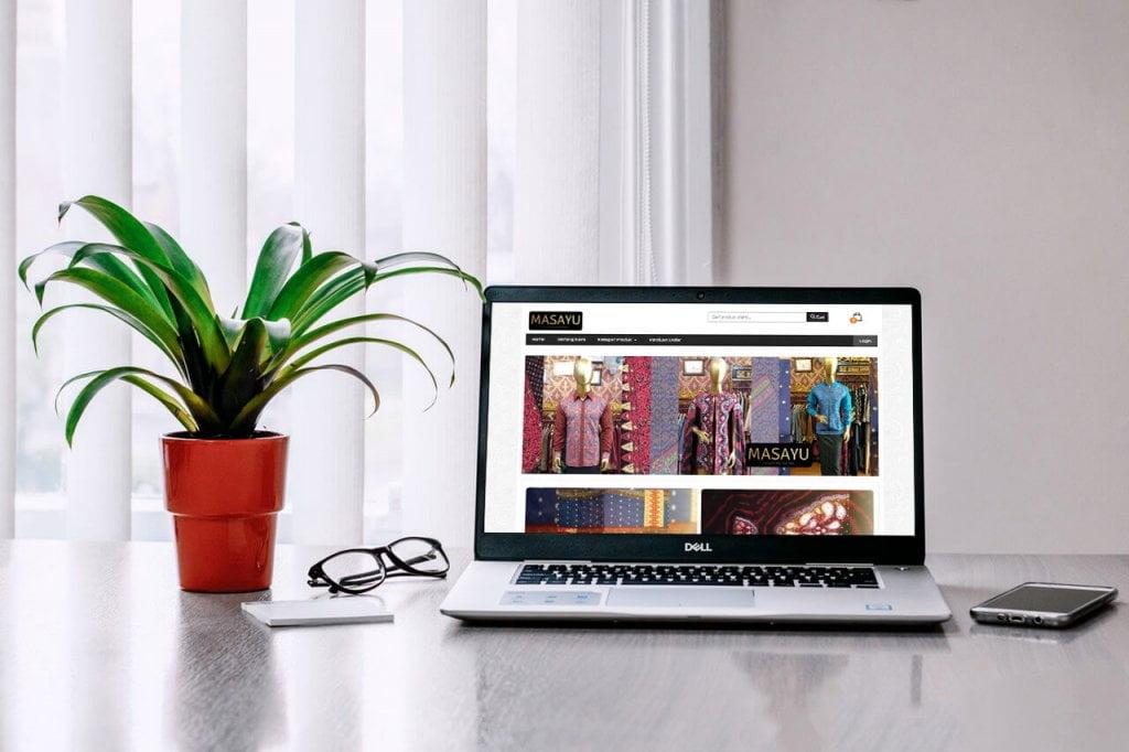 Jasa Pembuatan Website Toko Online Busana Kain Songket