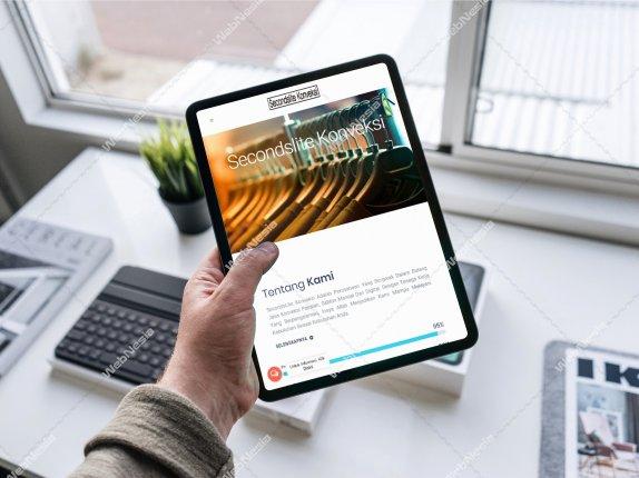 Jasa Pembuatan Website Konveksi