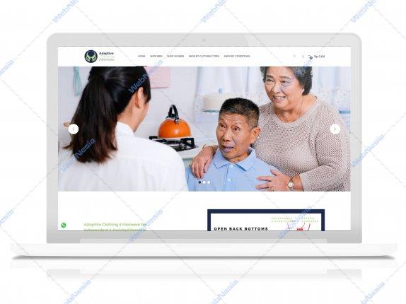 Jasa Website Toko Online Pakaian Penyandang Difabel