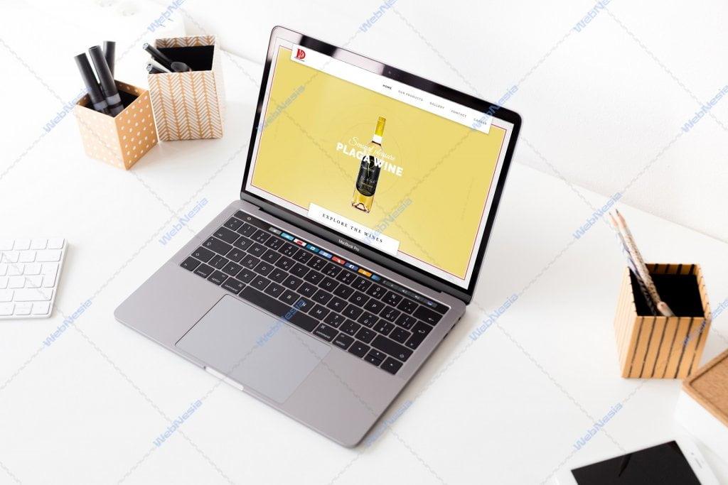 Jasa Pembuatan Website Toko Online Wine