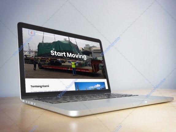 Jasa Pembuatan Website Company Profile Perusahaan Spesialis Kaca