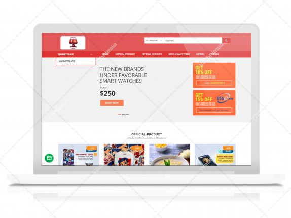 Jasa Website Marketplace - Storekitaid