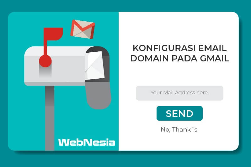 Konfigurasi Email Domain pada Gmail