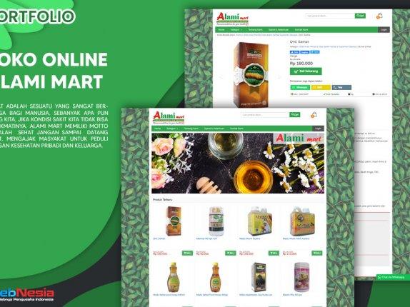 Jasa Pembuatan Website Toko Online Herbal