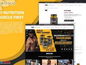 Jasa Pembuatan Website Toko Online Suplemen
