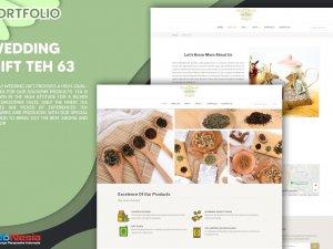 Jasa Pembuatan Website Toko Souvenir Teh