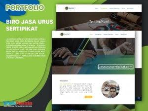 Jasa Pembuatan Website Biro Jasa Urus Sertipikat