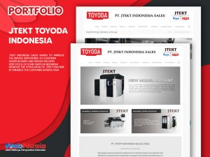 Jasa Pembuatan Website Company Profile Mesin