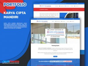 Jasa Pembuatan Website Aluminium