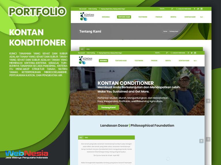 Jasa Pembuatan Website Obat Tanaman