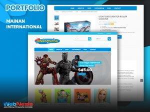 Jasa Pembuatan Website Toko Online Mainan
