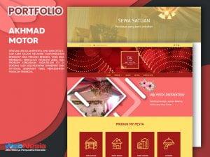 Jasa Pembuatan Website Sewa Tenda