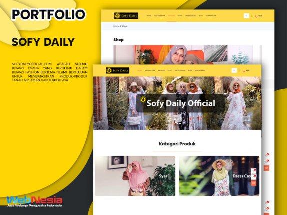 Jasa Pembuatan Website Toko Online Baju Gamis