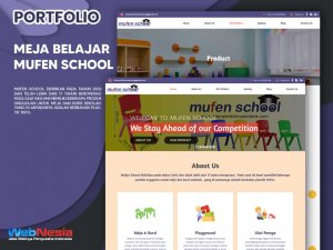 Jasa Pembuatan Website Meja Belajar