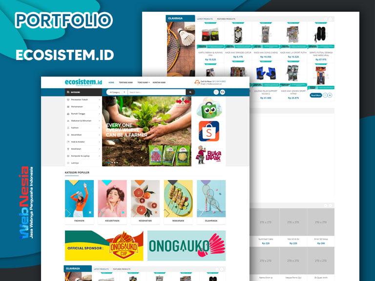 Jasa Pembuatan Website Toko Online Reseller