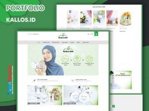 Jasa Pembuatan Website Toko Online Kosmetik