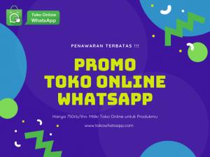 Promo Toko Online Whatsapp