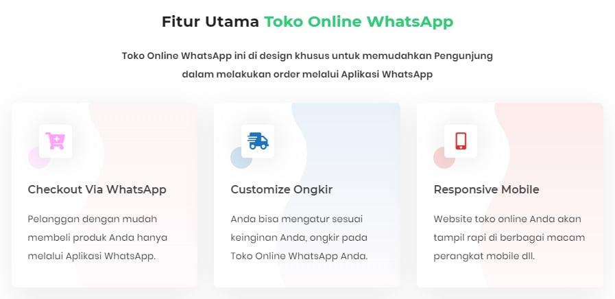 Fitur Toko WhatsApp
