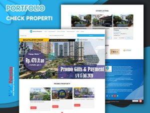 Jasa Pembuatan Website Properti