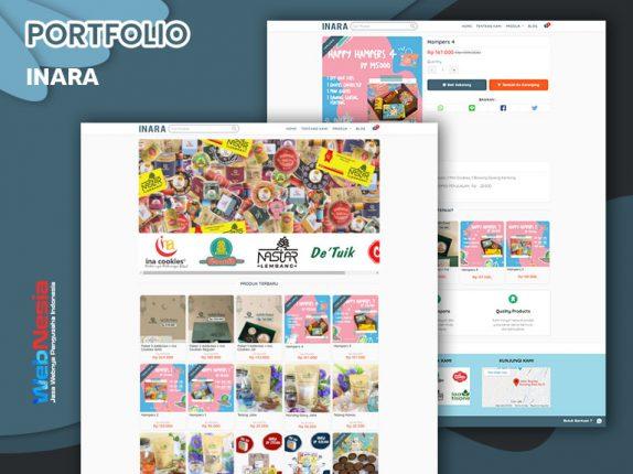 Jasa Website Toko Online Makanan Ringan
