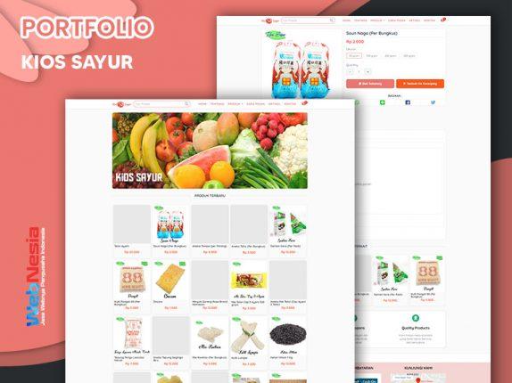 Jasa Website Toko Online Sayur
