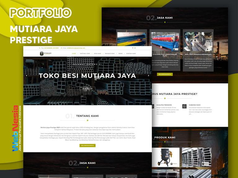 Jasa Website Perusahaan Besi