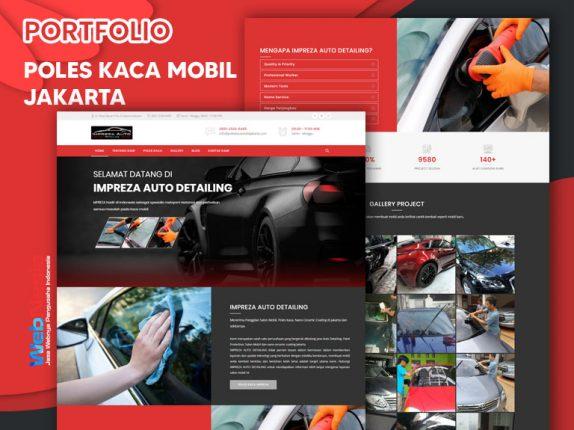 Jasa Website Poles Kaca Mobil