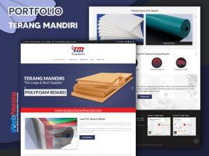 Jasa Website Perusahaan PVC