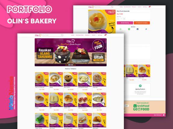 Jasa Website Toko Online Kue